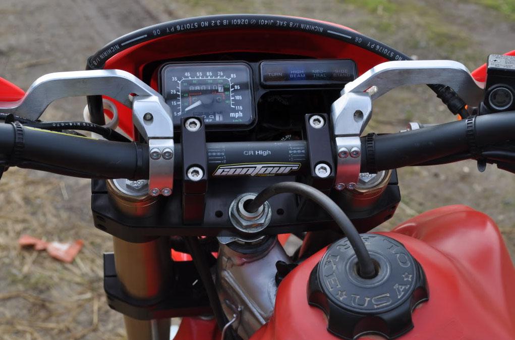 Защита на руль мотоцикла своими руками